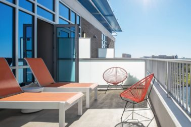 Ultra Savvy King Suite Balcony